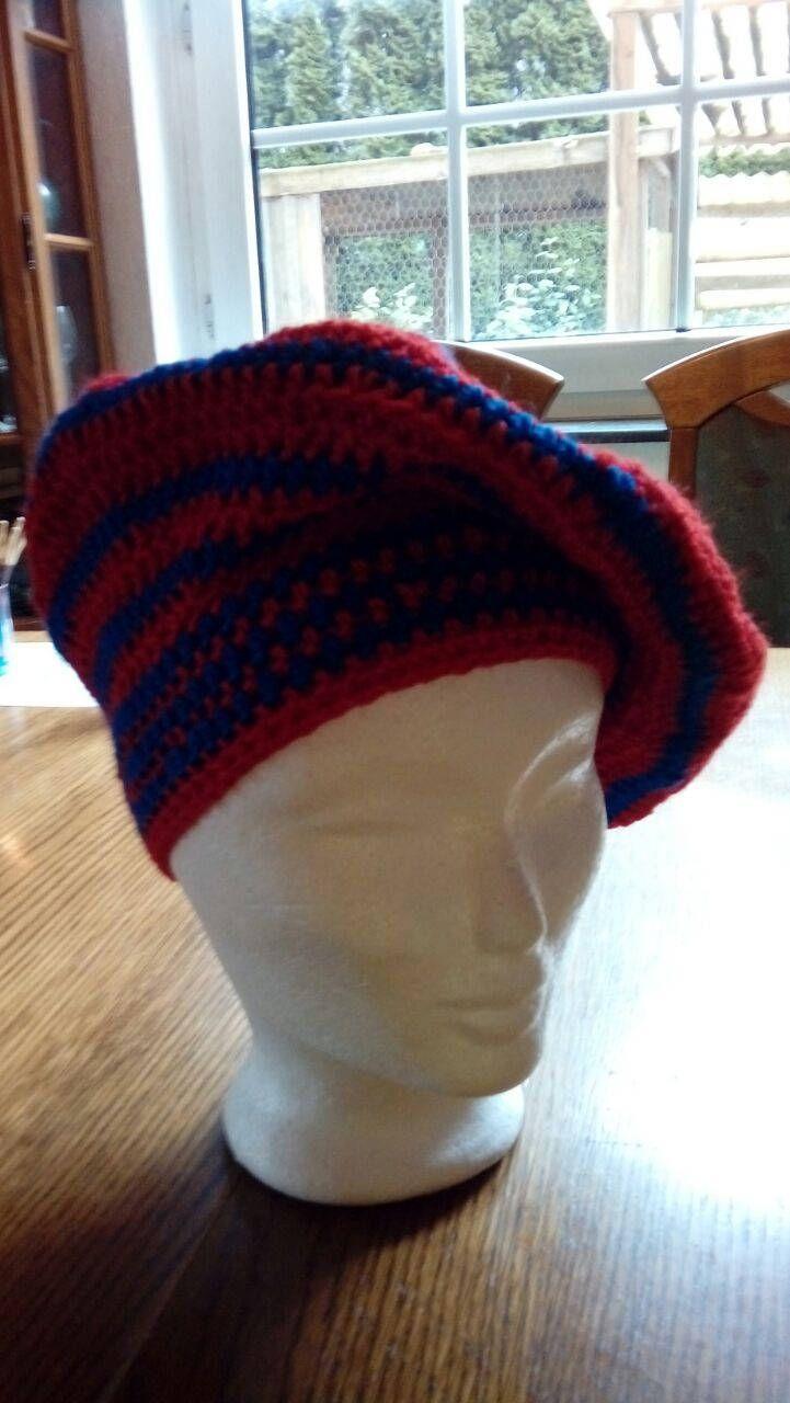 STAR TREK Cap à la GUINAN / TNG / balloon Hat / striped Beanie / Hat ...