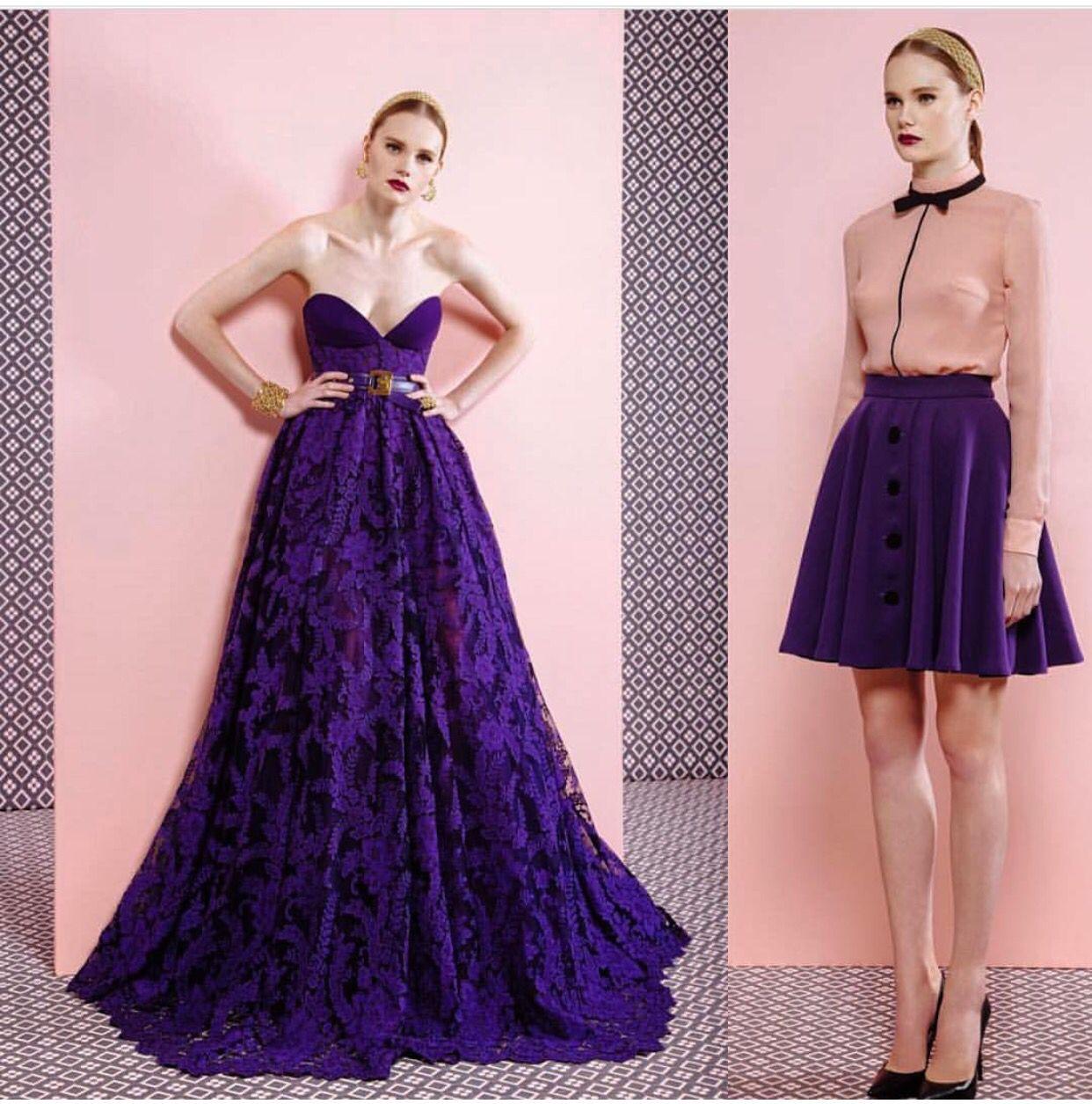 Vestido morado | Bridesmaid | Pinterest | Vestido morado y Vestiditos