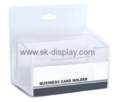 Custom Acrylic Square Desktop Business Name Card Holder Bd 052 Business Card Displays Name Card Holder Brochure Holders