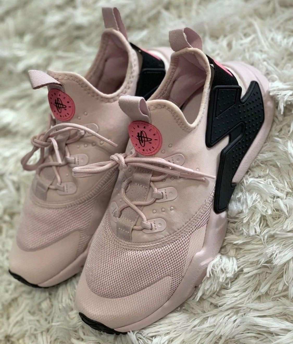 nike huarache drift blush pink 4.5y