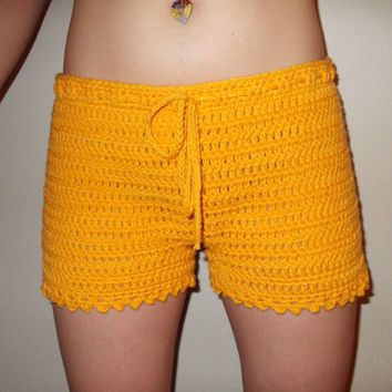 Free Crochet Womens Shorts Pattern Gallery Knitting Patterns Free