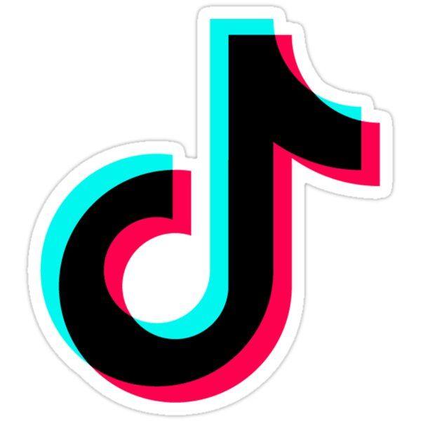 Tiktok Sticker Logo Sticker Snapchat Logo Tik Tok
