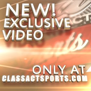 For exclusive video coverage from athletes charity events visit us at ClassActSports.com