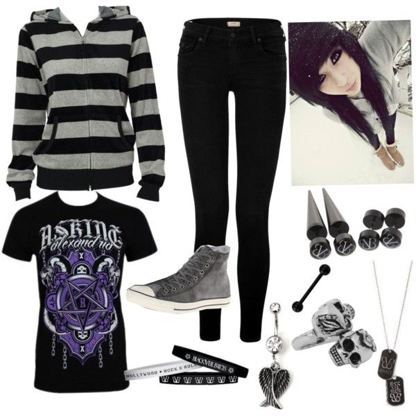Goth Clothing For School