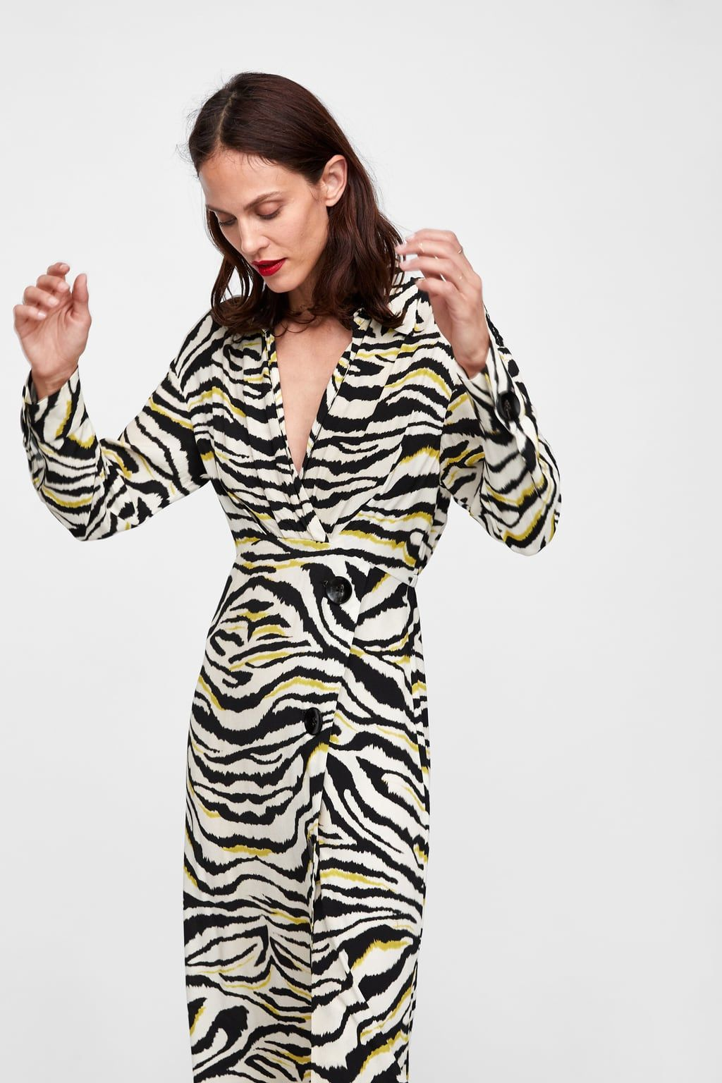 Image 6 of ZEBRA PRINT DRESS from Zara  b381f668f