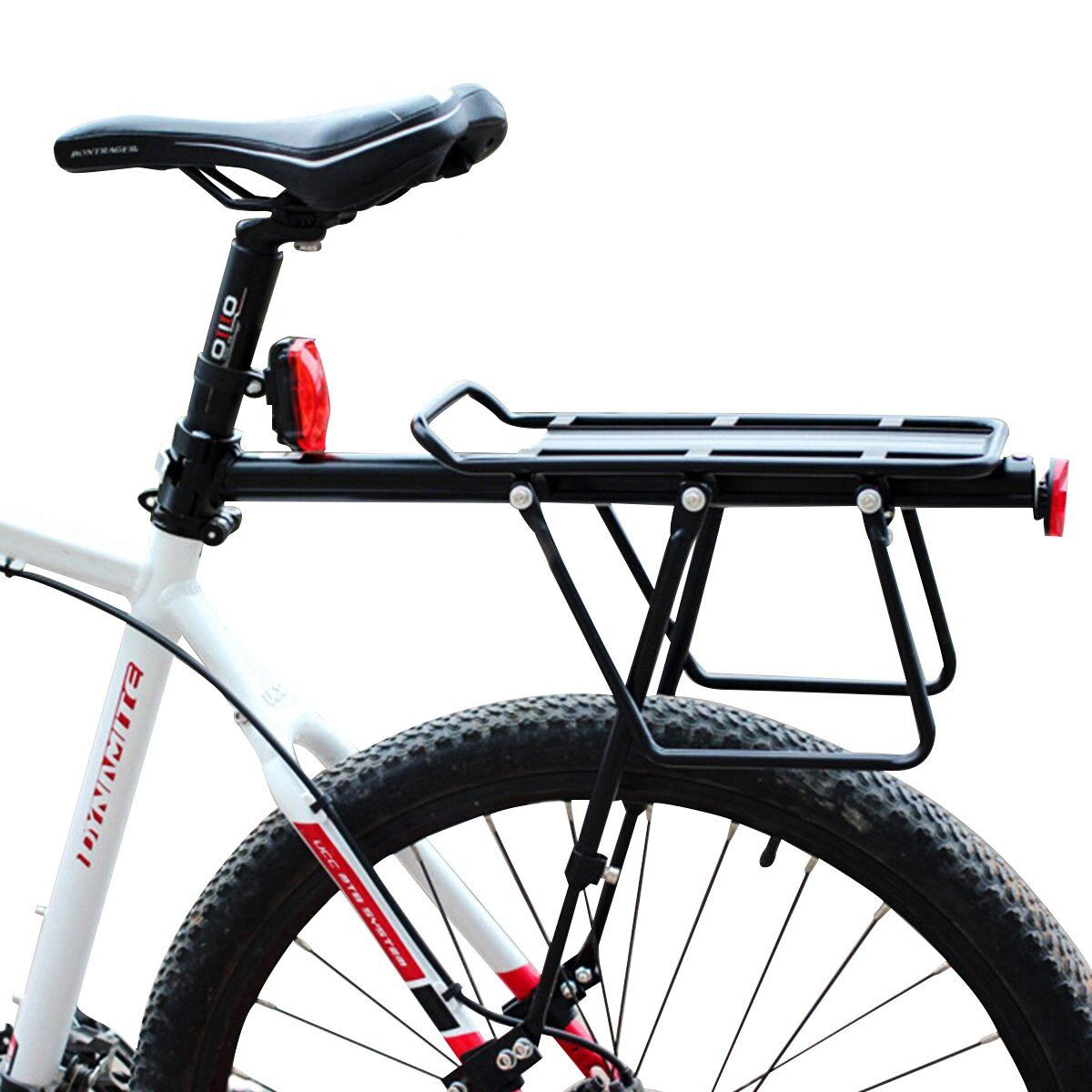 Bikight Bicycle Bike Cargo Rack Rear Back Seat Carrier Shelf Quick