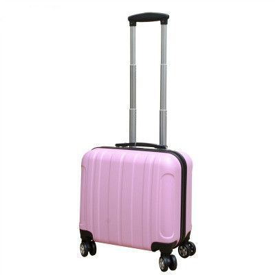 Lovely 17 inches girl computer case students trolley case child Travel luggage extensible rolling suitcase women Boarding box