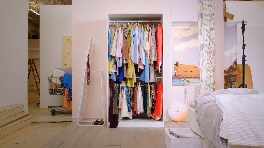 Kleiderschrank ausmisten Tipps & Ideen IKEA