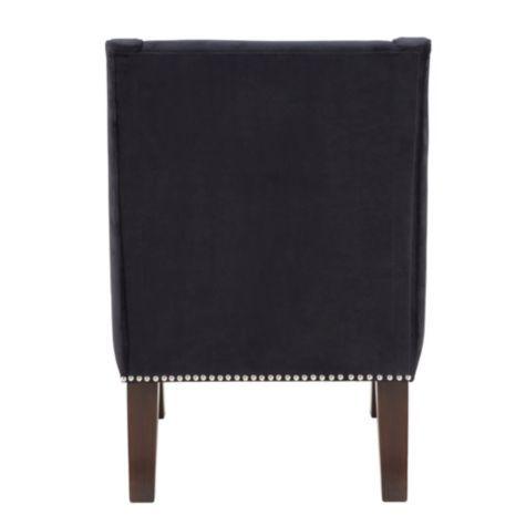 Best Samantha Accent Chair Bella Black From Z Gallerie Other 640 x 480