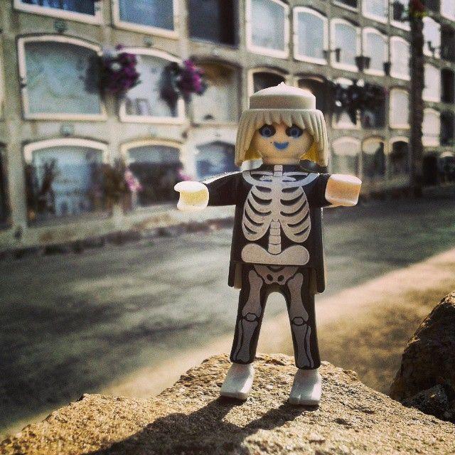 dia dels morts #zombie #clicks #playmobil