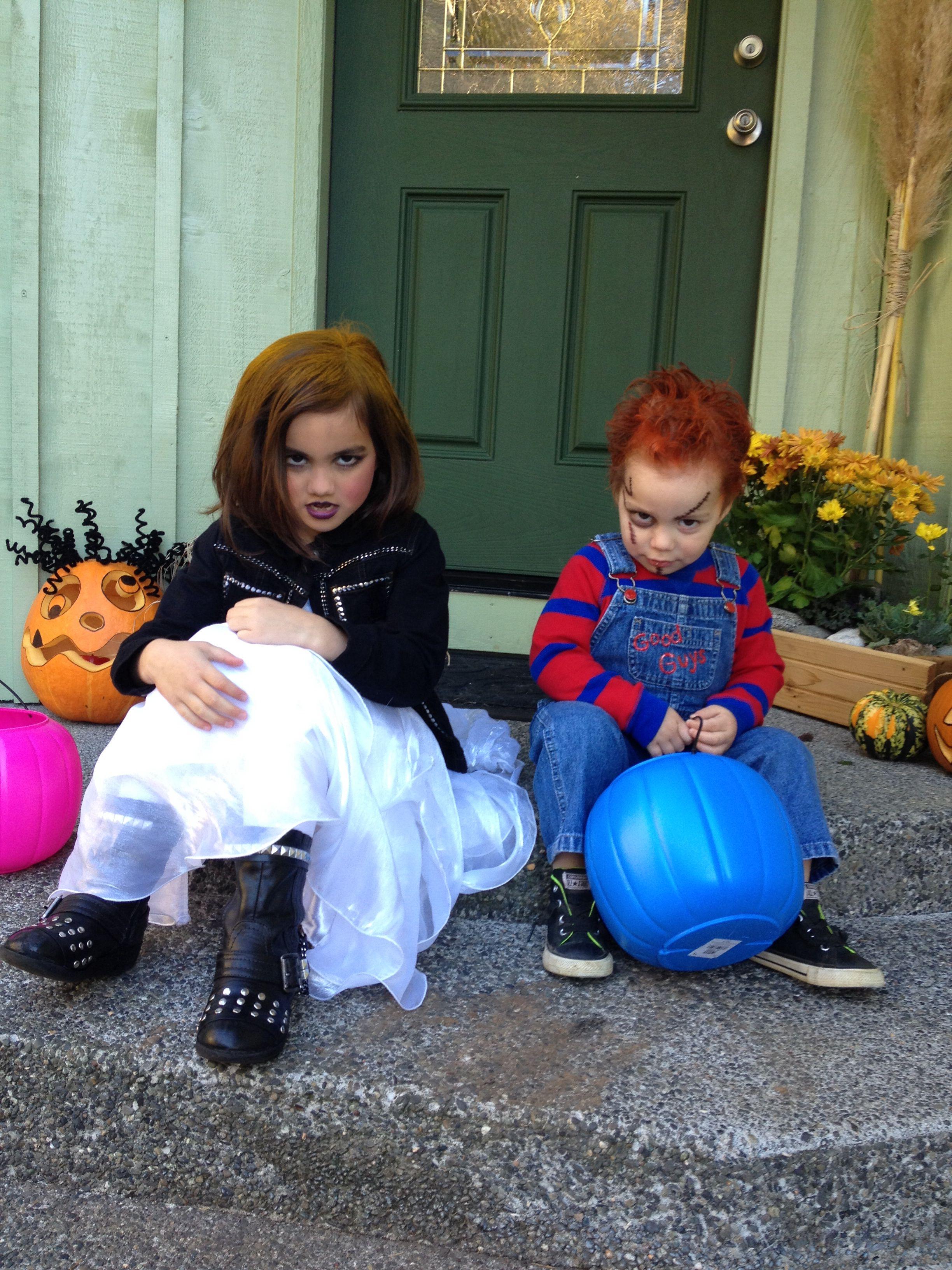 I nailed it!! Chucky and Bride of Chucky Halloween ...
