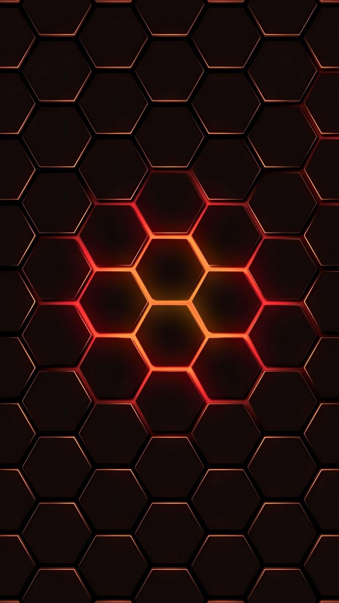hexagon abstract geometry wallpaper