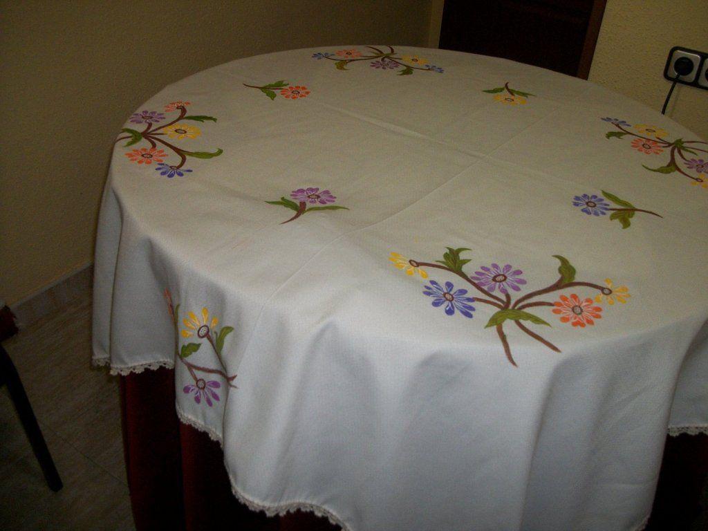 Dibujos para pintar en tela manteles buscar con google proyectos que intentar flowers - Dibujos para pintar en tela ...