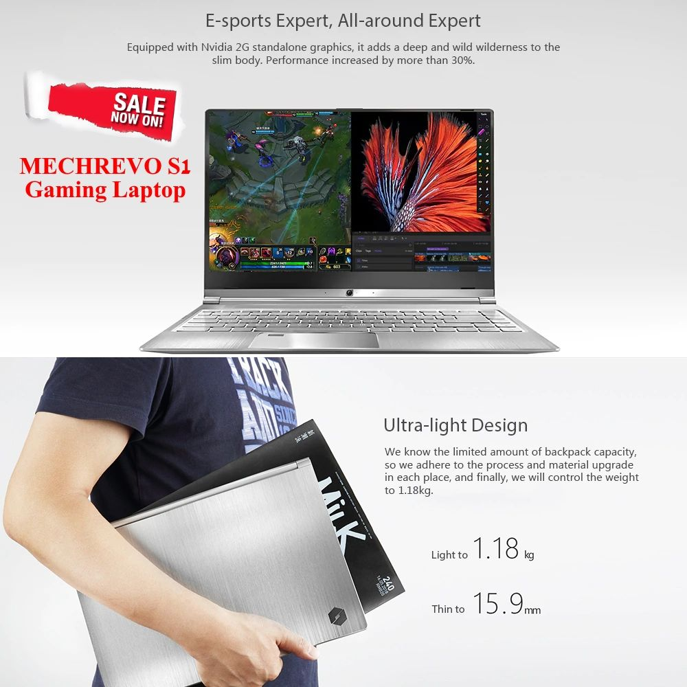 Great Price! Now $849 99 Available Coupon Price for The MECHREVO S1