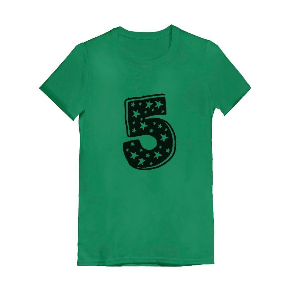 5 Kids Birthday Superstar 5 Years Old Idea Kids T-Shirt Tstars