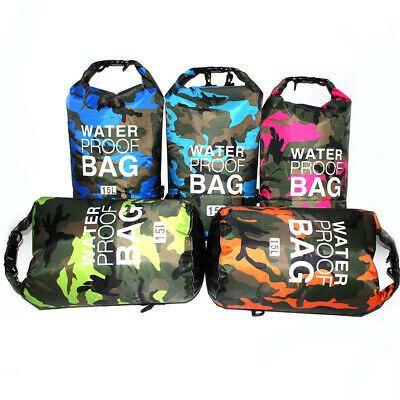 Photo of Advertisement(eBay) 2L-15L Waterproof Dry Bag Storage Sack Pouch For Hiking Camp…