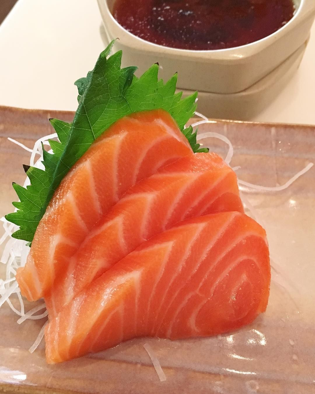We love fresh sashimi for being high in protein, omega-3 fatty acids, B vitamins and other essential nutrients!