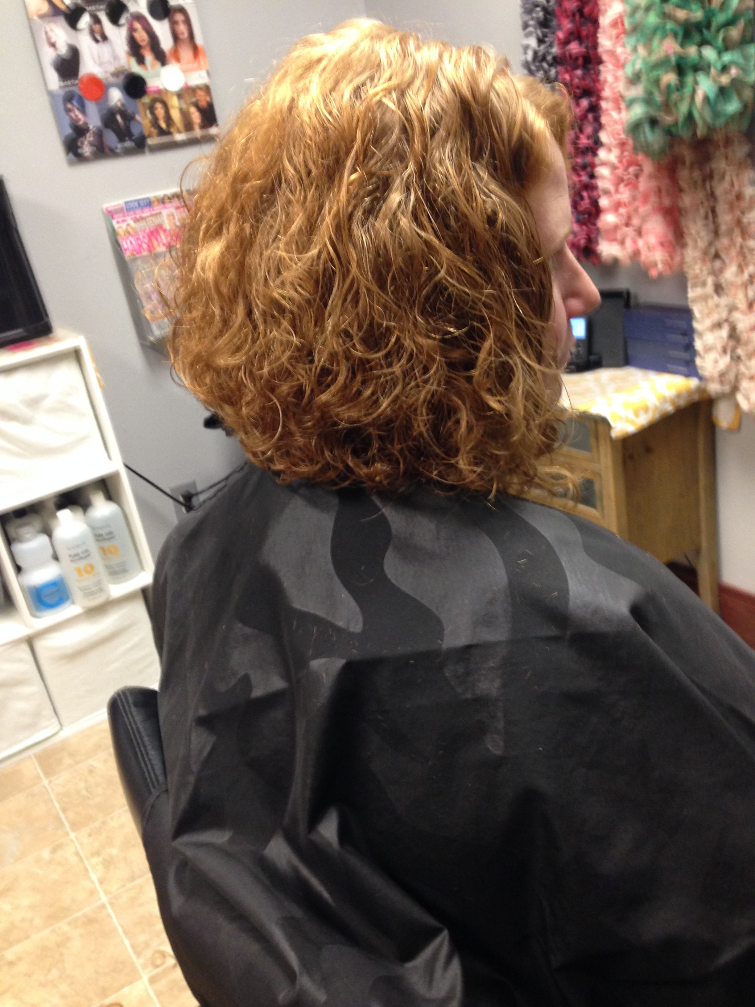 tooo bushy...probably what my hair would do.  stacked bob on super natural curly hair