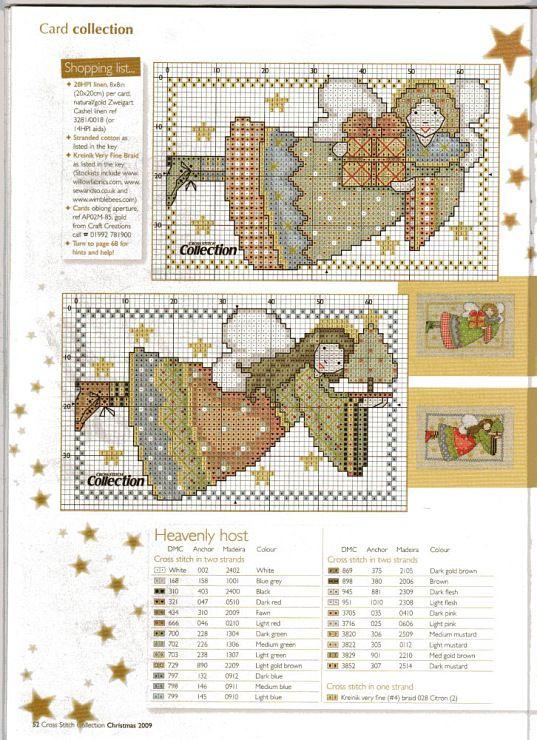 Joan Elliott_Card Angels_1/2 | Navidad