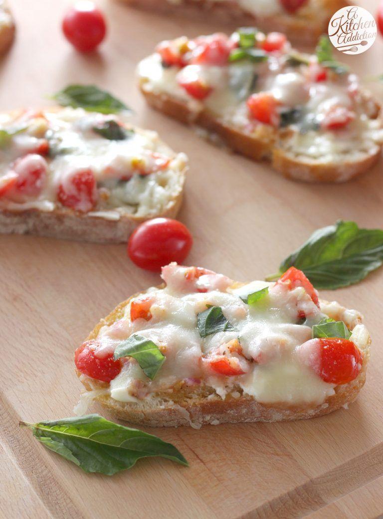 Bruschetta Melts - A Kitchen Addiction