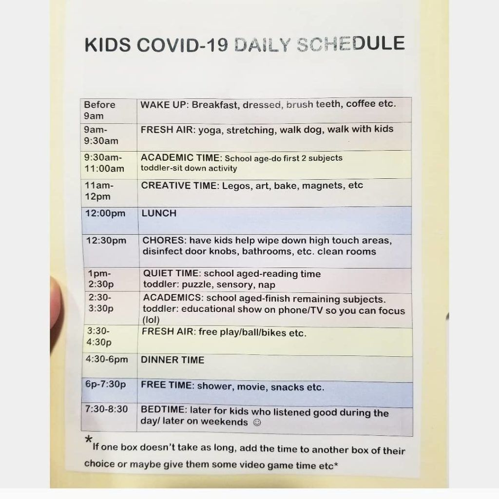 Creating A Homeschool Schedule 8 Different Ideas To Get