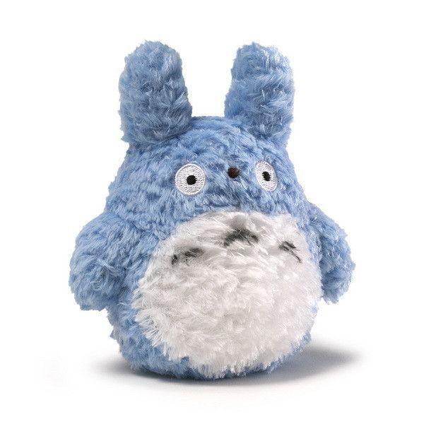 Gund Totoro Blue 5 5 With Images Totoro Plush Totoro
