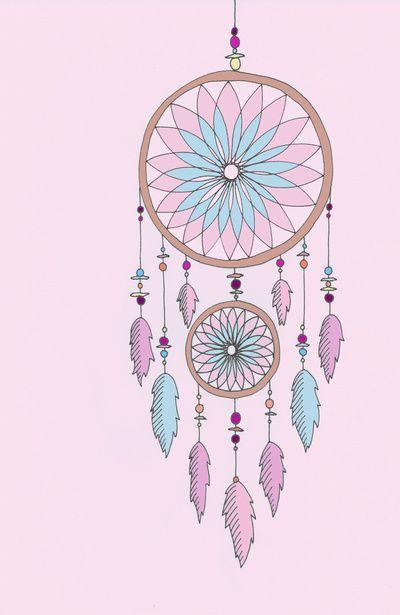 Dress up your tech illustration pinterest tech wallpaper dreamcatcher art print by haleyivers voltagebd Gallery
