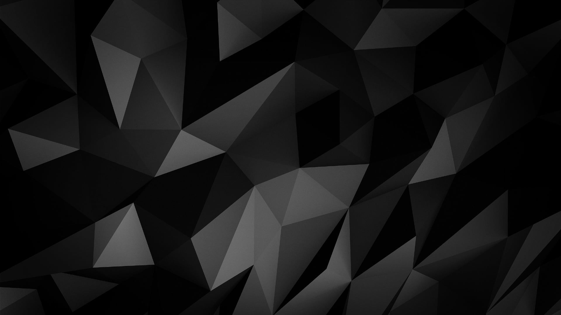 Black Low Poly Monochrome Pattern Triangle Design Angle Geometry Darkness Graphics Minimal Art Minimal Minim Monochrome Pattern Wallpaper Monochrome