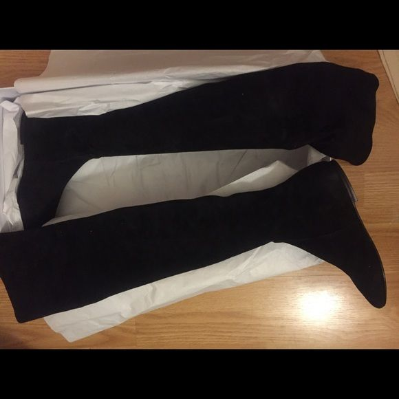 c7db50e98b6 Isabel Marant Étoile Brenna Over the Knee Boots Size 37. Suede black over  the knee boots. Brand new - never been worn. Isabel Marant Shoes Over the  Knee ...