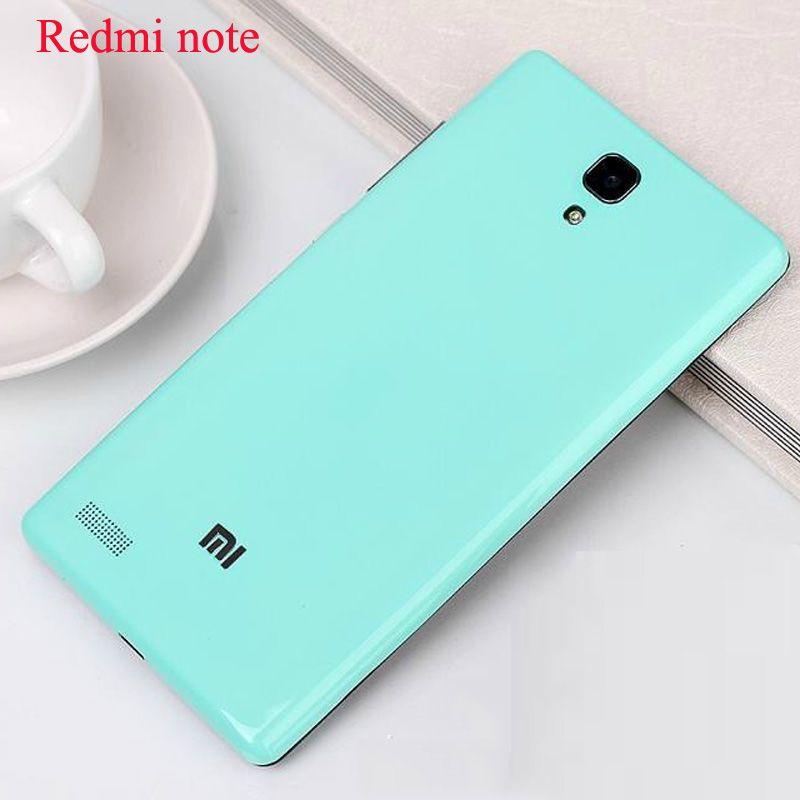 대한 xiaomi redmi note case 원래 배터리 다시 커버 xiaomi redmi note 5.5 인치 주택 case 커버 교체 부품 피부