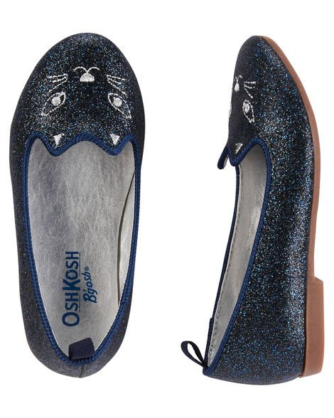 f316207671c084 Baby Girl OshKosh Sparkle Kitty Loafers from OshKosh B gosh. Shop clothing    accessories from a trusted name in kids
