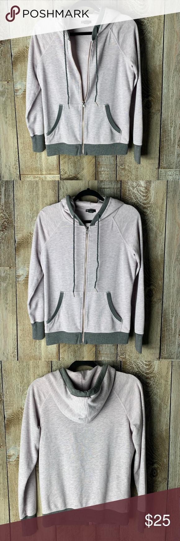 Champion Elite Hoodie Sz M Grey With Hints Of Pink Sweatshirt Tops Champion Tops Clothes Design [ 1740 x 580 Pixel ]