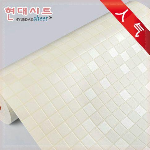 Self Adhesive Vinyl Roll Waterproof Wall Paper Kitchen Mosaics Sticker PVC  Tile Wallpaper Plastic Wallpapers Home