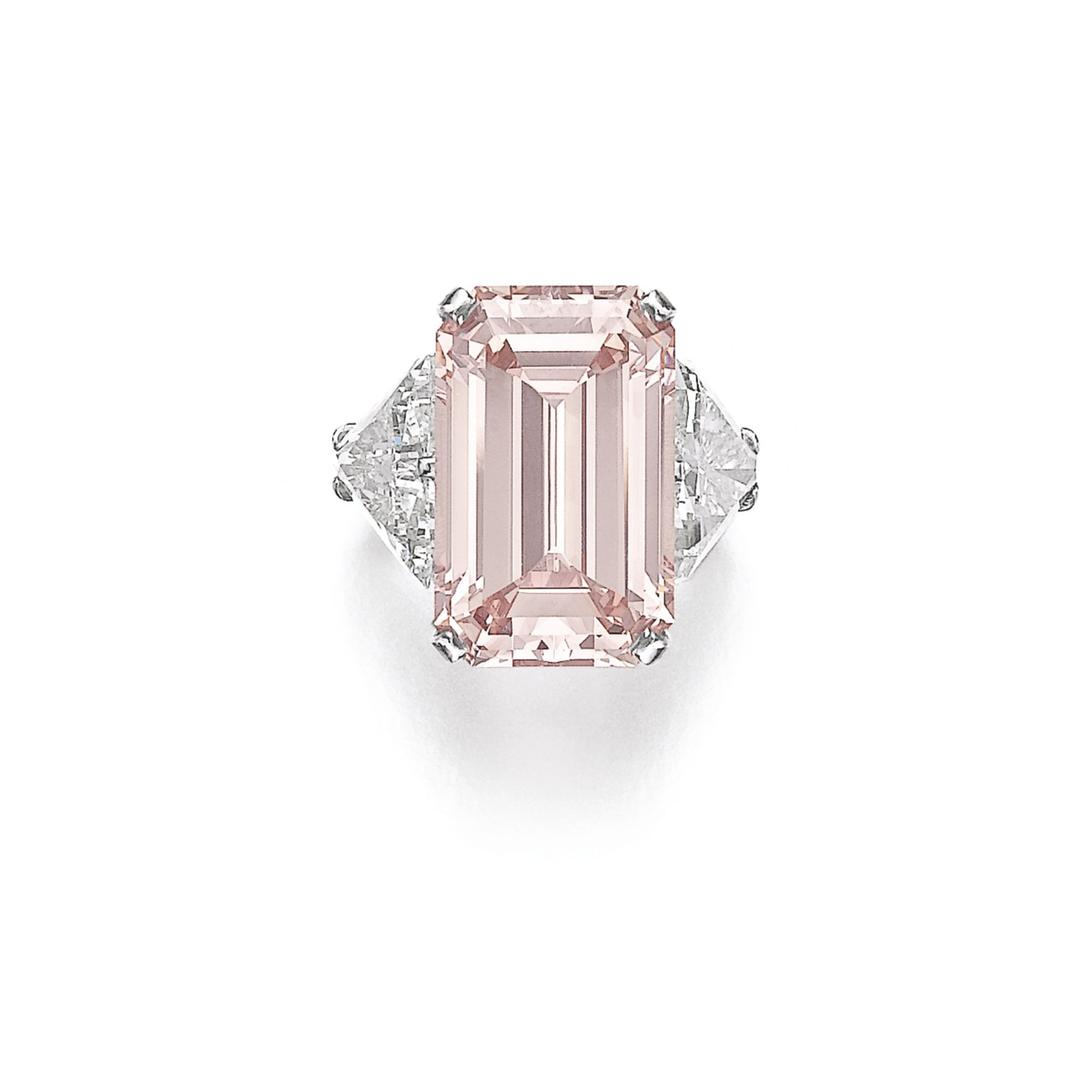 modified pink impressive an cornered rings pinterest pin diamond rectangular approximately colored fancy carats s christie just intense a weighing diamonds cut set with ring