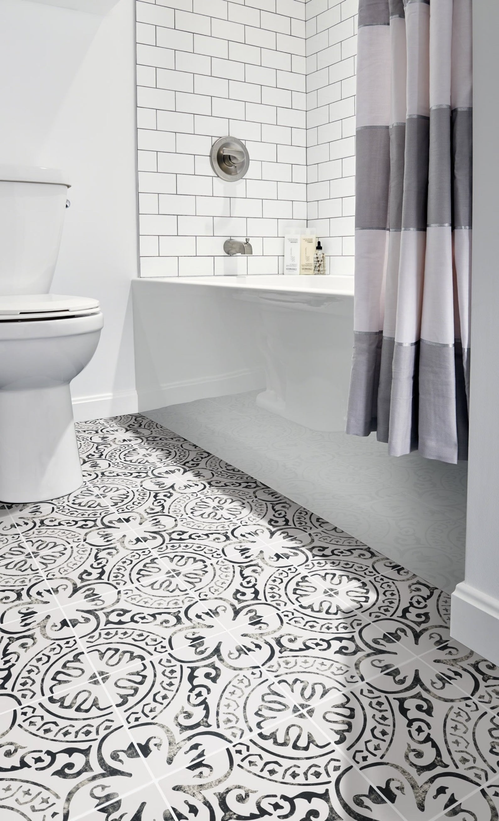 Stair Riser Decal Vinyl Tile Stickers Vintage Kitchen Etsy In 2020 Vinyl Tile Bathroom Floor Tiles Vinyl Flooring