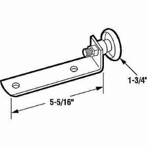 Prime Line Gd52168 Tilt In Door Roller With Bracket By Prime Line 6 85 Gd52168 Plastic Roller And Steel Bracket Desig Garage Doors Home Doors Home Hardware