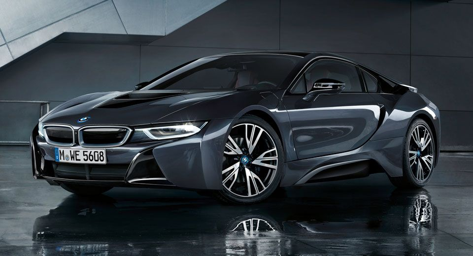Bmw I8 Goes Dark With New Protonic Silver Edition Cars Pinterest