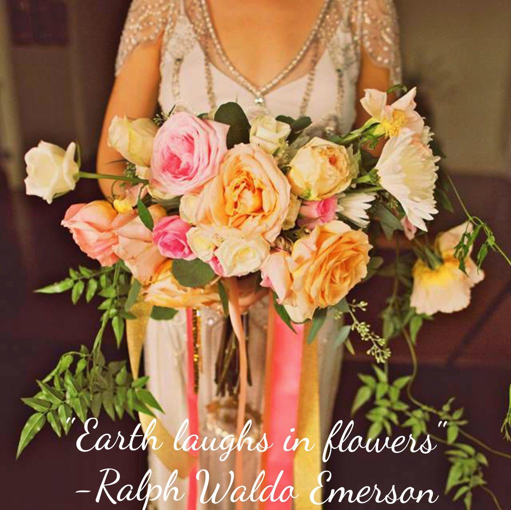 Bliss Flower Design Earth Flowers Quotes Wedding Weddingbouquet