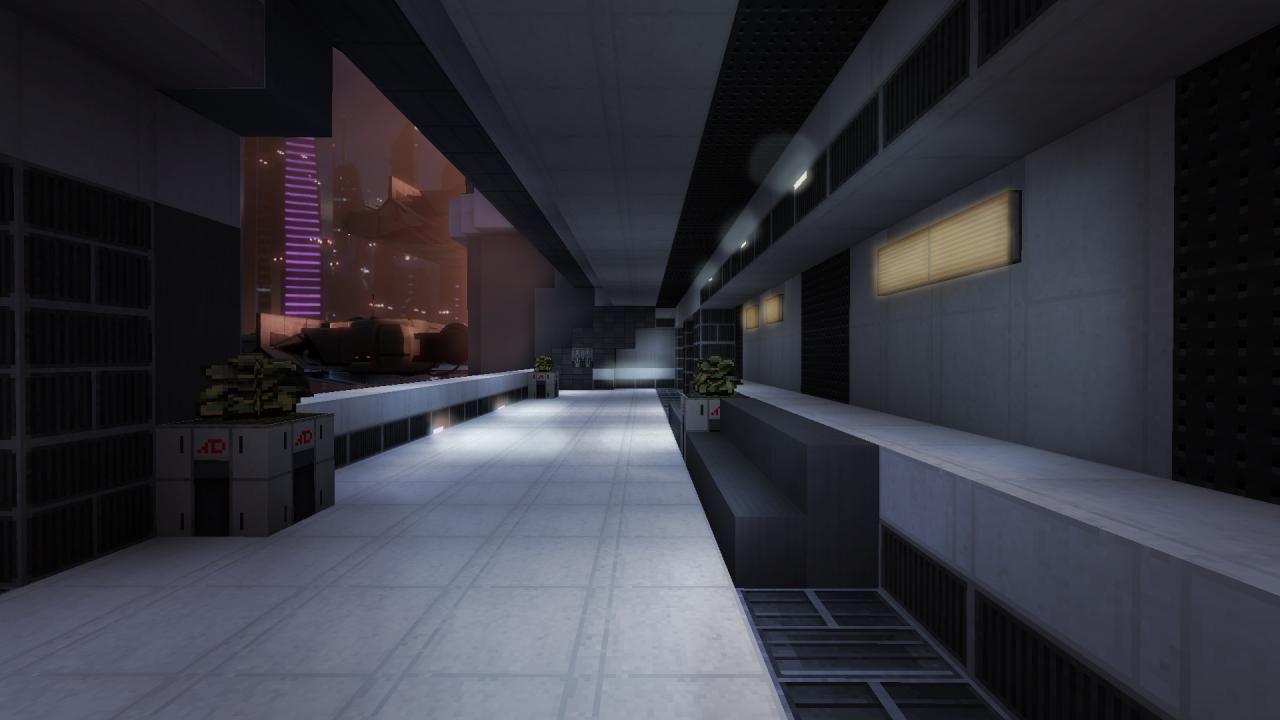 32x Dark Matter Mass Effect Inspired V0 3 Minecraft Texture Pack Futuristic Interior Design Texture Packs Dark Matter