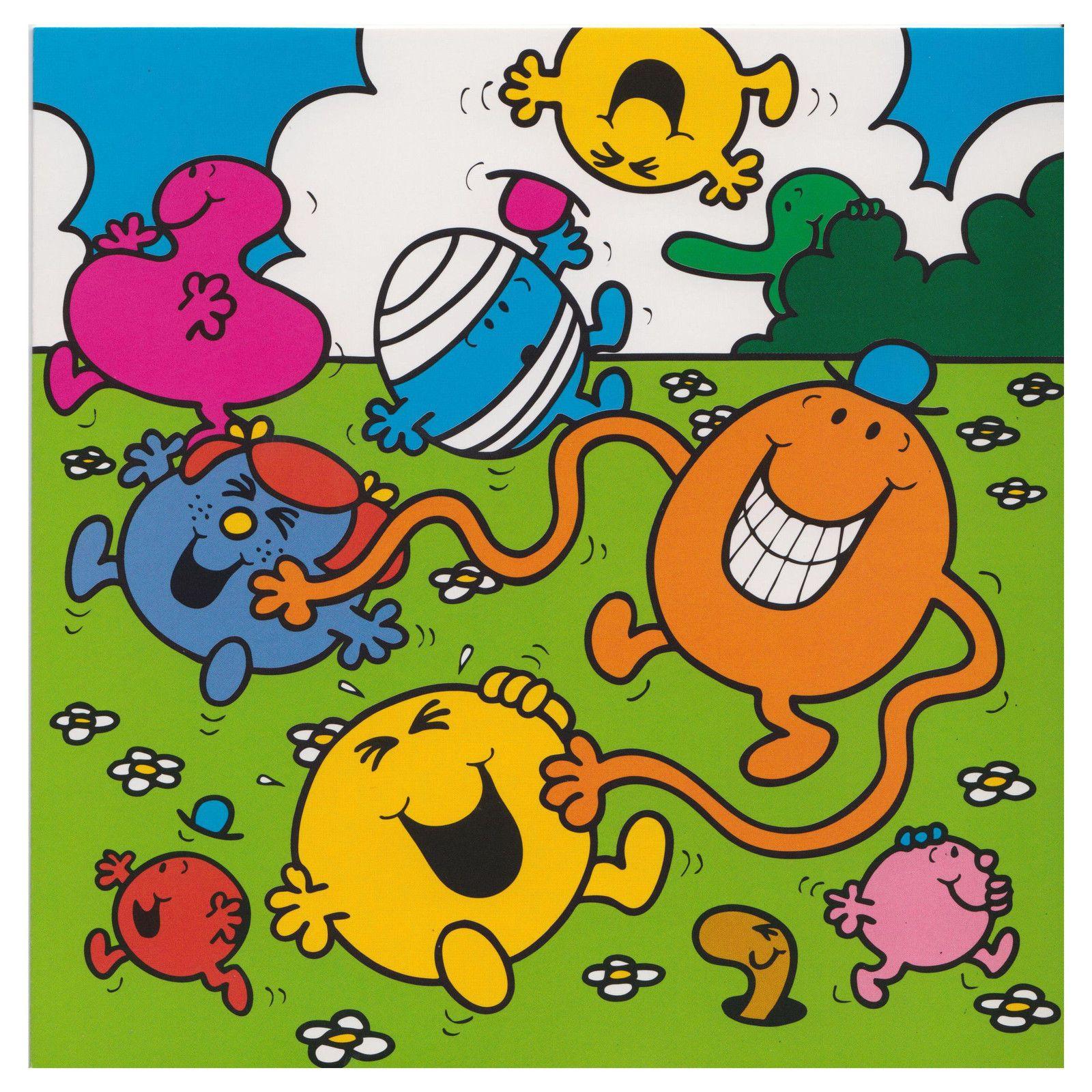 3 95 Gbp Mr Men Little Miss Characters Greeting Card Mr Happy Mr Greedy Mr Bump Birthday Ebay Home Garden Mr Men Little Miss Mr Men Little Miss