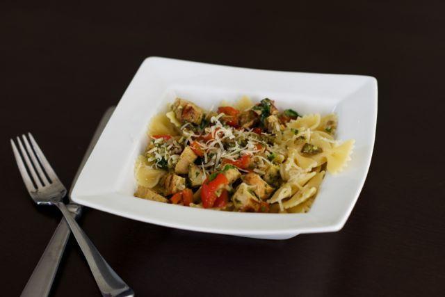 Veggie and Pesto Pasta - Culinary Mamas