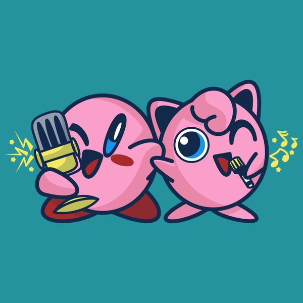 4b19587f #kirby #jigglypuff #pokemon #tshirt Kirby Pokemon, Kirby Character, Video  Game