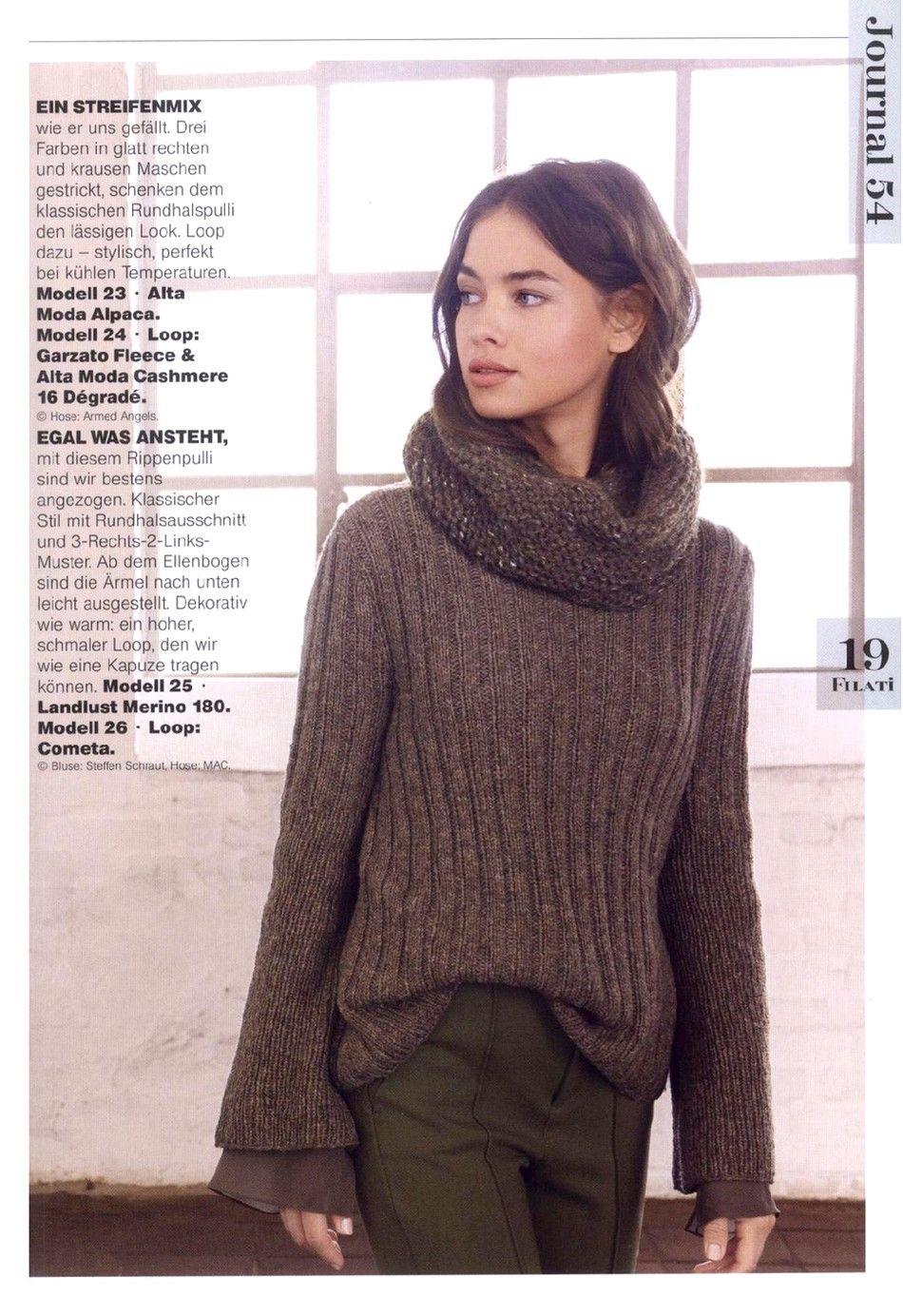 Filati Stricken №13 2017 | Fashion, Knitted sweaters, Diy ...