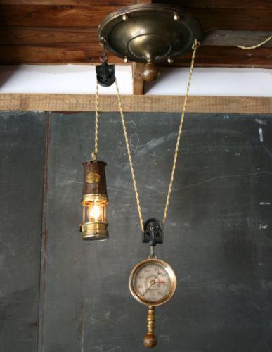 Details About Vintage Antique Industrial Steampunk Ceiling