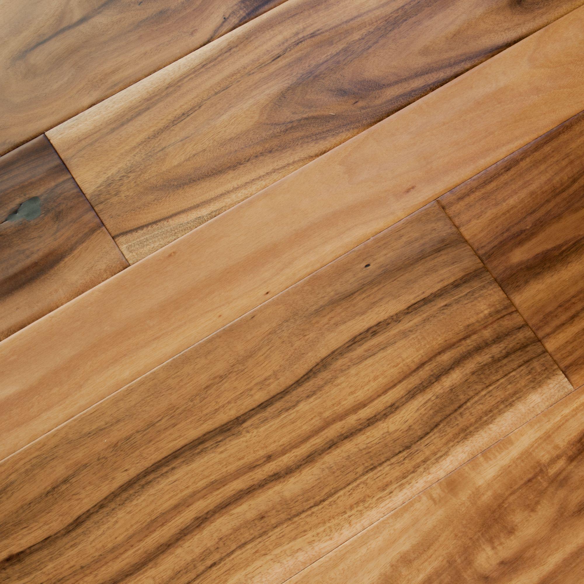 Artisan Acacia Natural Hand Scraped Engineered hardwood
