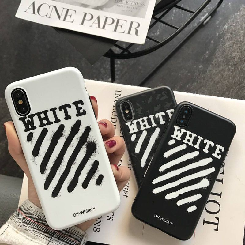 huge selection of 0c46a dbcd1 $12.99 AUD - Luxury Off White Soft Tpu Case Cover For Iphone X 6S 7 ...