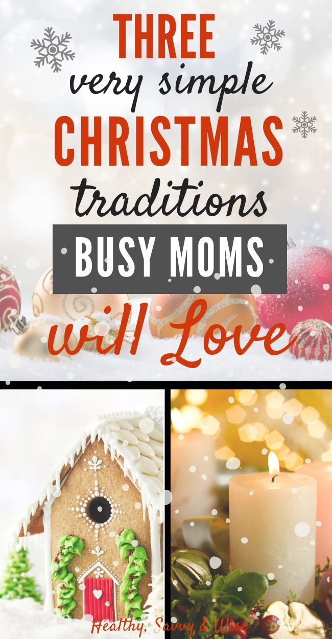 Three Simple Christmas Family Traditions: Bring Joy & Peace to the Season (With images ...