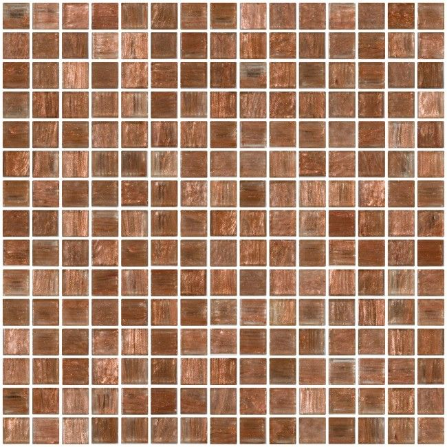 inch copper and gold marbled glass tile