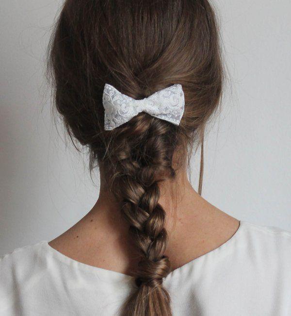 Idée coiffure de mariage : une tresse classique