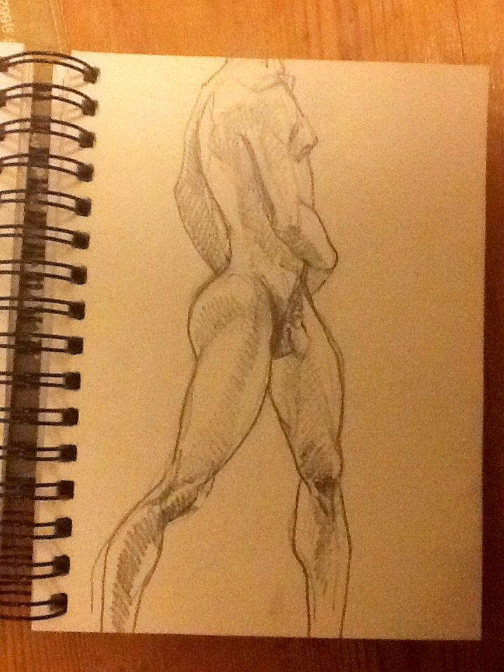 Life drawing. Nothing wrong with a little embellishment.